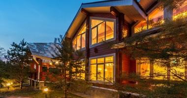 готовые дома из дерева и клееного бруса