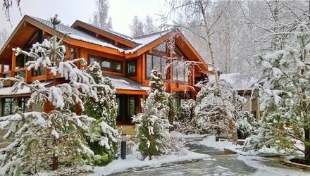 элитные деревянные дома на рублевском шоссе продажа