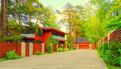 элитные дома из клееного бруса шале виллы рублевка, купить дом на рублевке фото и цены