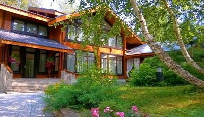 дома на Рублевке, фото домов на Рублево-Успенском шоссе, красивые дома Рублёвки, цены на дома на Рублевке Ново-Рижском Минском шоссе