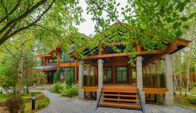 деревянный дом в жуковке барвихе николина гора, самые красивые деревянные дома