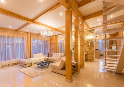 строительство элитных деревянных домов с бассейнами (клееный брус) Россия Москва