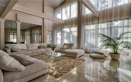 купить элитный деревянный дом на Рублевке, купить дом на Рублевке, роскошные дома на Рублево-Успенском шоссе