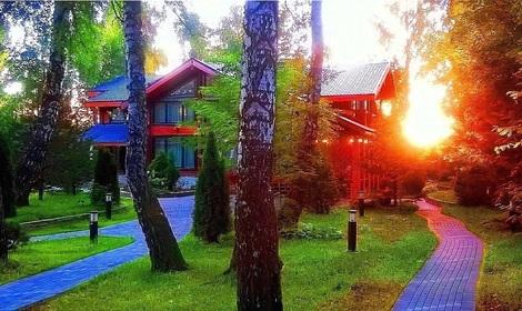 элитные деревянные дома из клееного бруса (Москва Россия),