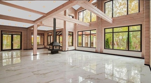 вилла-натуре villa-nature купить стильный дом из клееного бруса, элитные дома из дерева