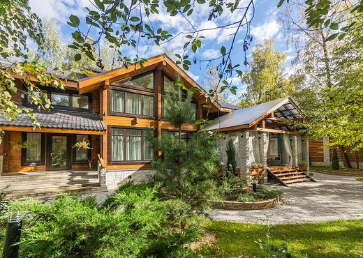 купить дом на Рублевке продажа элитных деревянных вилл и домов на Рублево Успенском шоссе