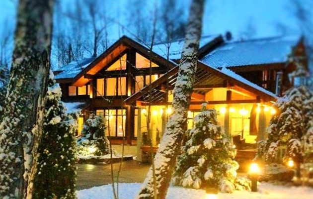 Вилла-НАТУРЕ коттеджный поселок на Рублевке, село Успенское, купить готовый дом из дерева