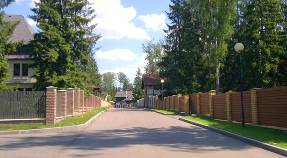 """элитный поселок """"Сосны"""" Симферопольское шоссе 30 км, инфраструктура, отель Фореста и ОК БОР"""