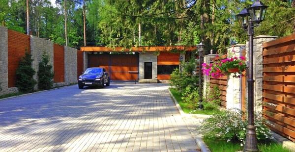 Вилла РИВА (Villa NATURE) - коттеджные поселки элитных деревянных домов (Россия, Подмосковье Рублевка)