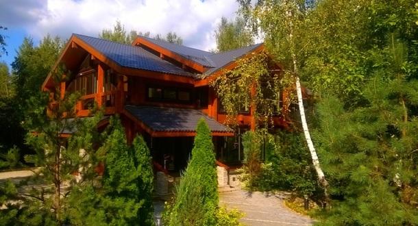 современные дома из клееного бруса Villa-NATURE