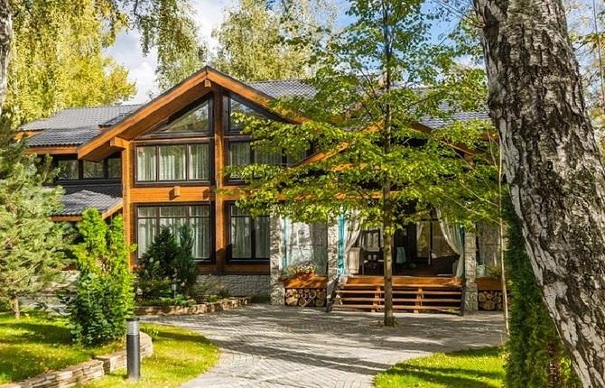 дома на Рублевке фотои цены, купить дом на Рублевке, продажа домов на Рублево-Успенском шоссе, поселок Николино