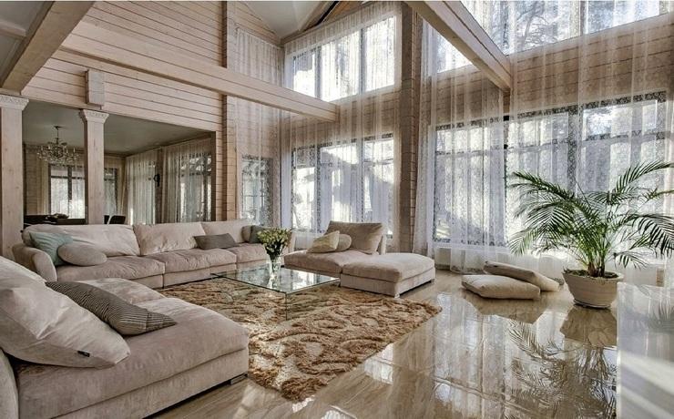 элитные дома в Москве и Подмосковье, роскошные коттеджи на Рублево-Успенском шоссе, лучшие деревянные шале мира